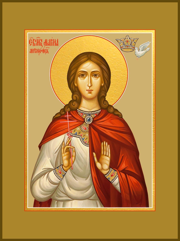 купить икону святой Марины