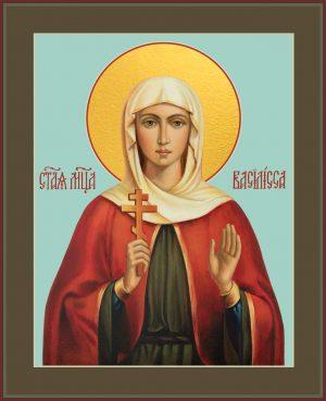 купить икону святой Василисы