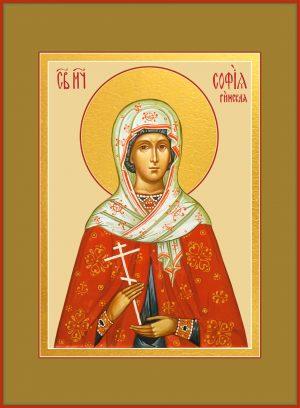 купить икону святой Софии