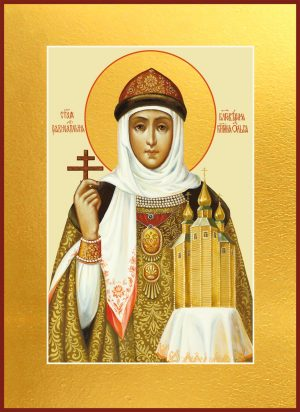 купить икону святой Ольги