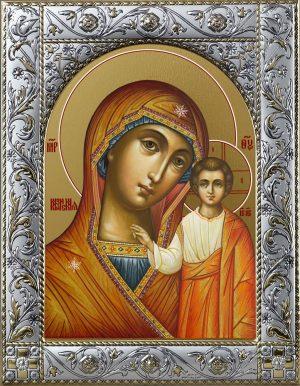 купить икону Казанская Божья Матерь