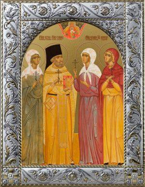 купить икону бутовских мучеников Евдокии, Серафима, Екатерины, Милицы