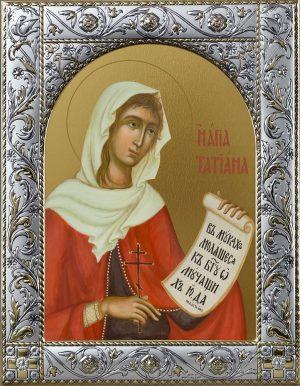 купить икону святой Татьяны
