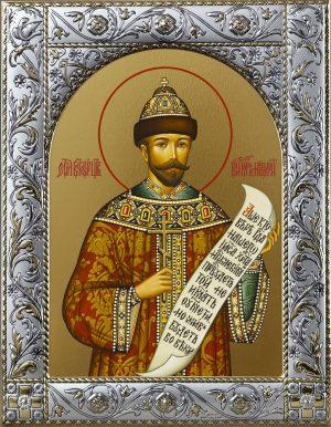 Купить икону святого императора Николая