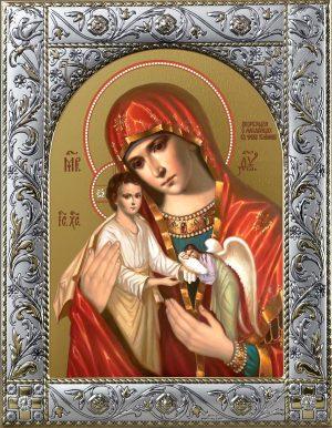 купить икону Божьей Матери Скорбящая о младенцах, во чреве убиенных