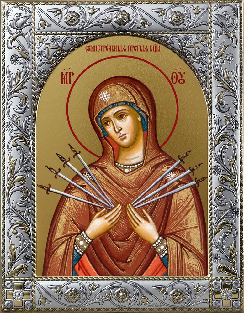 купить Семистрельную икону Божьей Матери