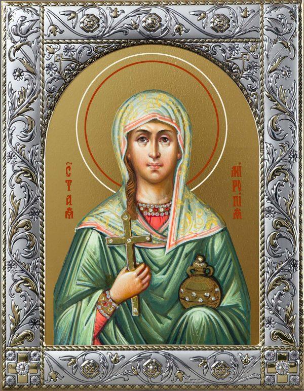 купить икону святой Миропии мученицы