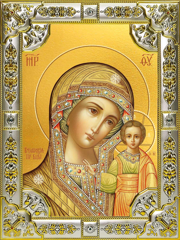Купить Казанскую икону Божьей Матери в интернет магазине