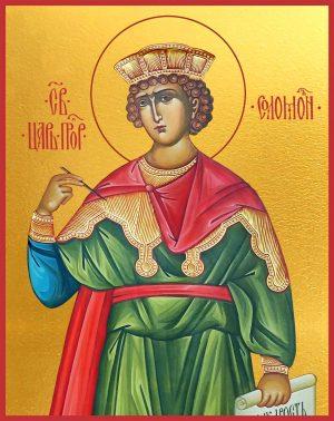 купить икону Соломон праотец, царь и пророк