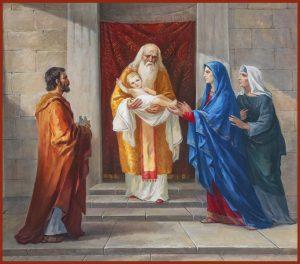 купить икону Сретенье Господне