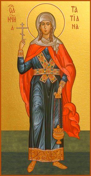 купить икону великомученицы Татианы Римской