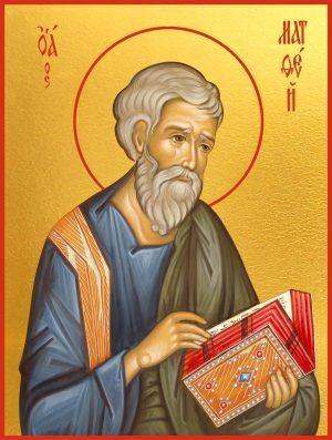 Купить икону святого апостола Матфея