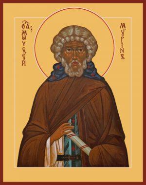 Моисей Мурин Преподобный, икона (арт.04869)
