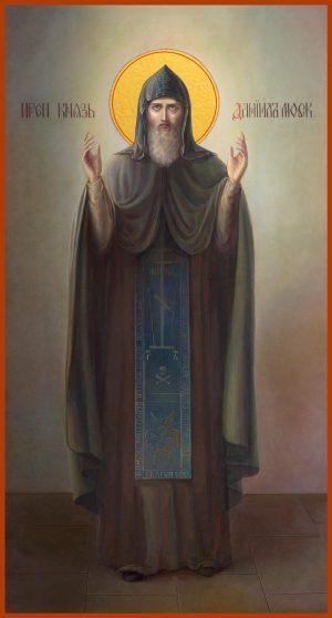 купить мерную икону святого князя Даниила Московского