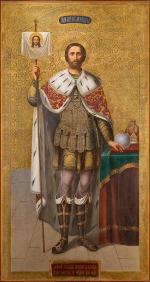 купить мерную икону святого Александра Невского