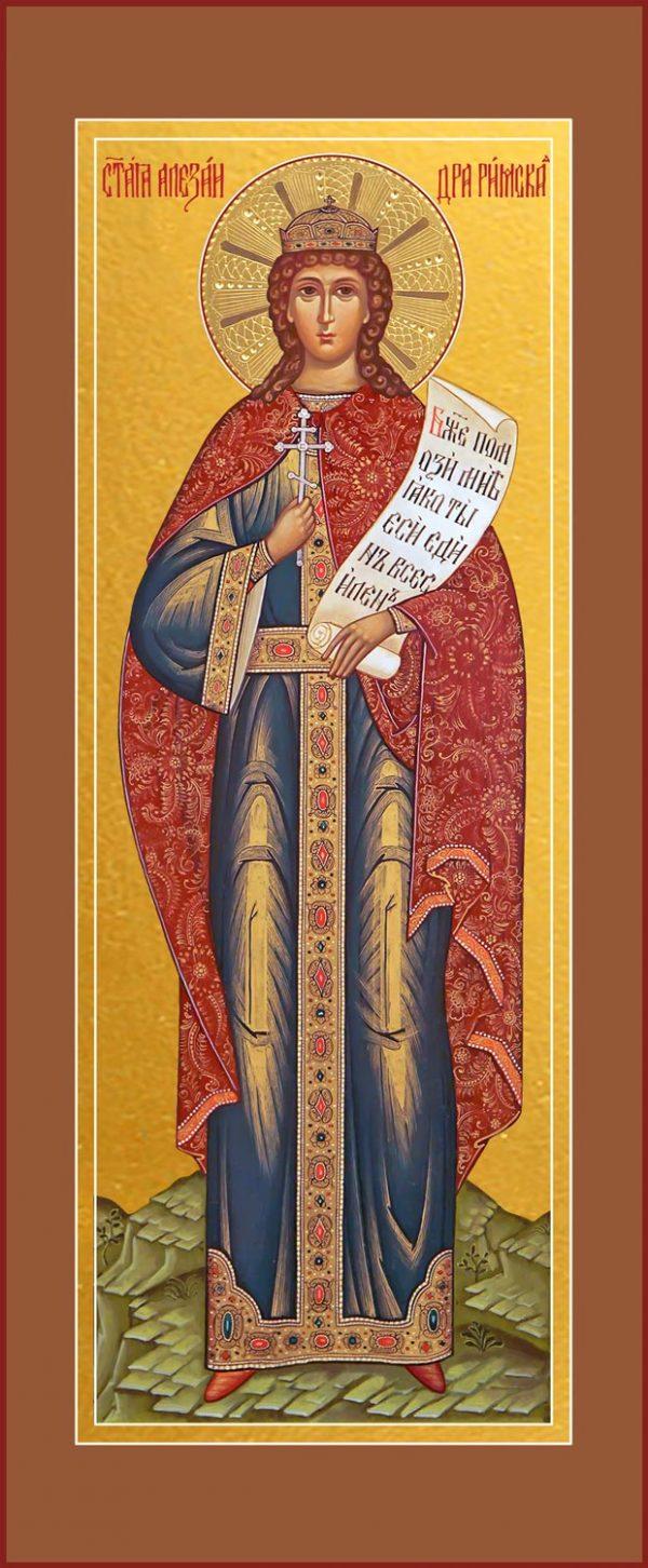 купить мерную икону святой Александры Римской