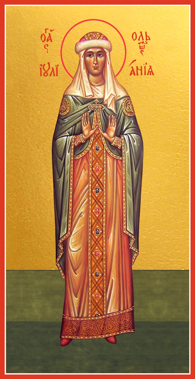 купить мерную икону святой Иулиании (Ульяны) Ольшанской
