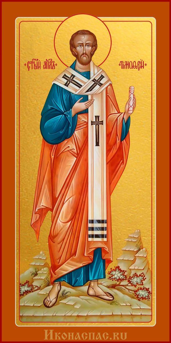 Заказать мерную икону святого Тимофея апостола