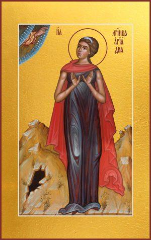 купить мерную икону святой Ариадны мученицы