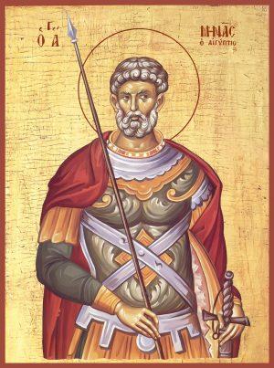 Купить икону святого Мины Котуанского в православном интернет магазине