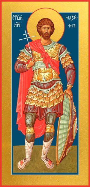 купить мерную икону святого Максима Антиохийского