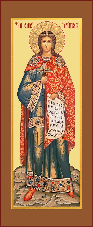 купить мерную икону святой Пелагеи Тарсийской