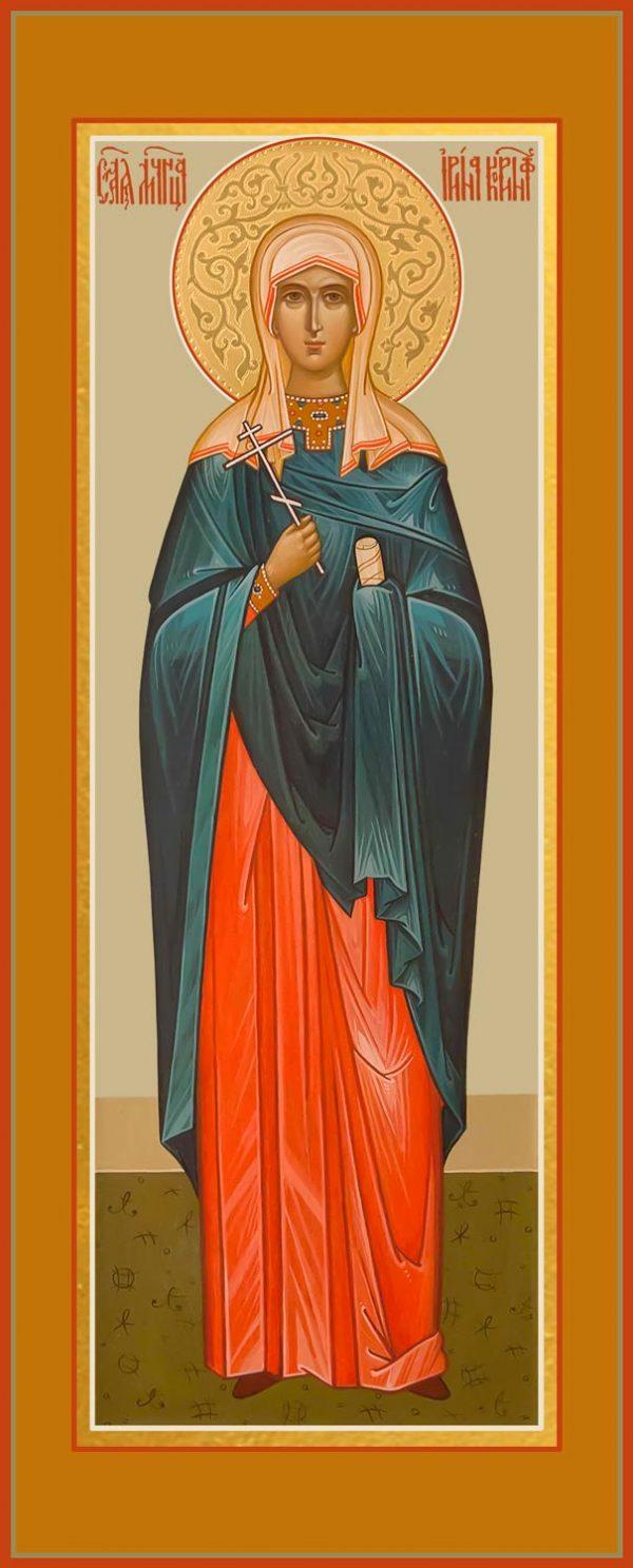 купить мерную икону святой Ирины Коринфской
