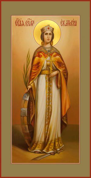 купить мерную икону святой Екатерины