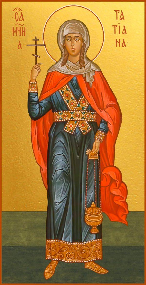 купить мерную икону святой Татьяны Римской