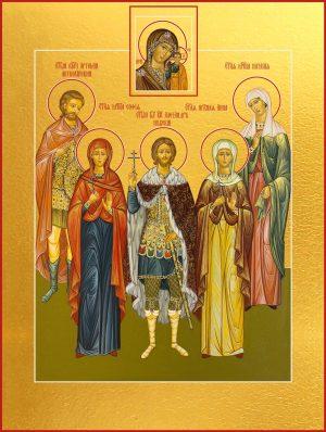 купить икону Собора Святых