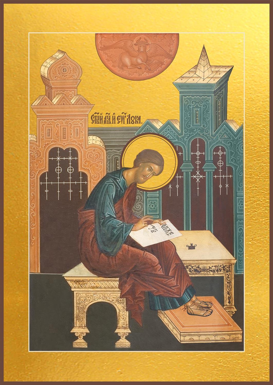 купить икону святого Луки апостола