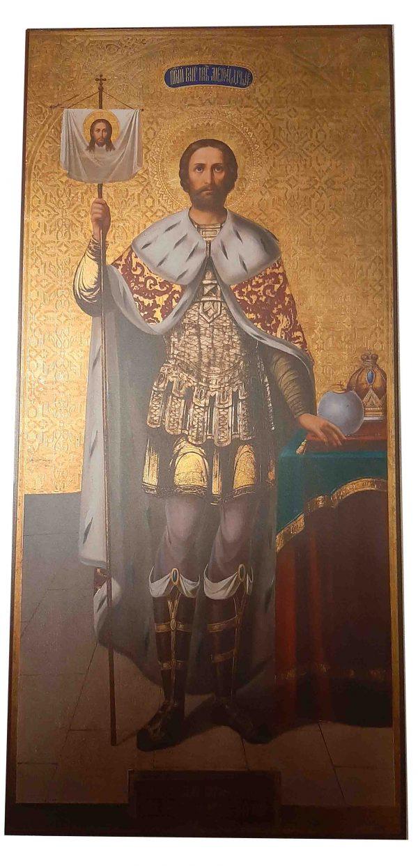 Купить мерную икону Александра Невского