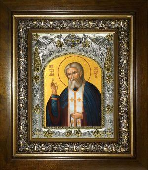 купить икону Серафим Саровский преподобный чудотворец