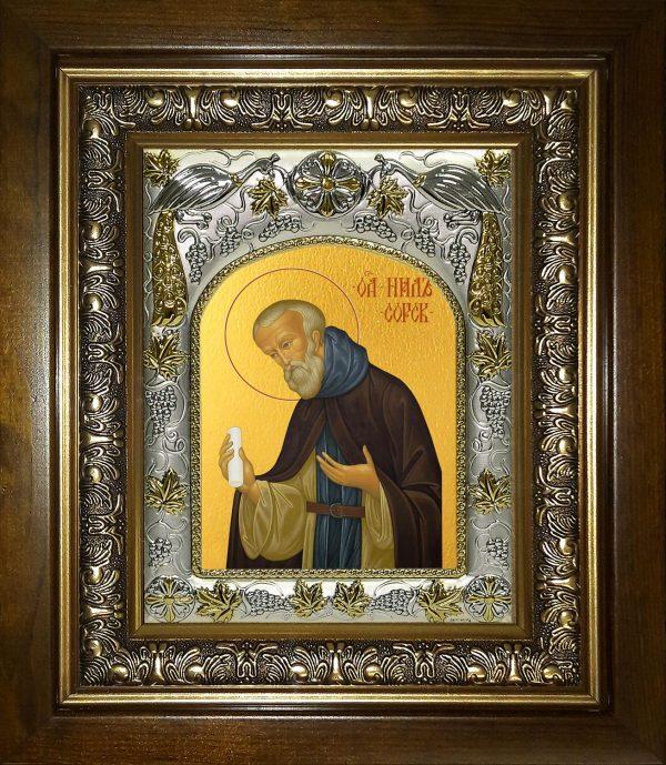 купить икону Нил Сорский преподобный