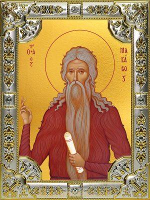 купить икону Макарий(Макар) Великий, Египетский преподобный
