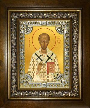 купить икону Иоанн Златоуст, архиепископ Константинопольский святитель