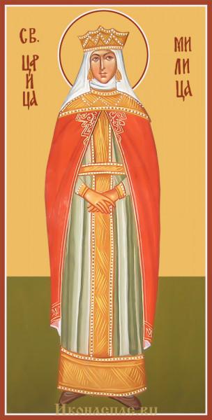 Икона святой Милицы
