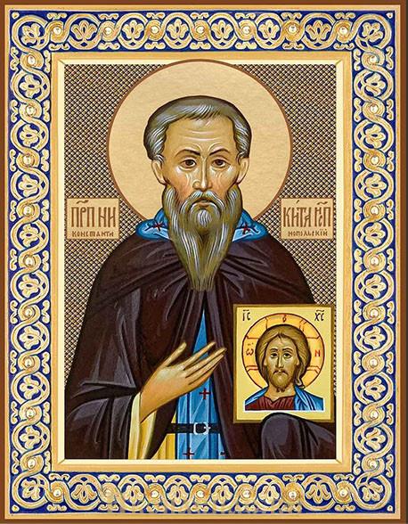 Икона Никита Исповедник преподобный