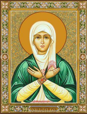 Икона Лия святая праведная праматерь