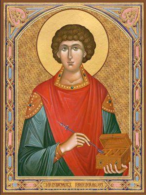 Икона Пантелеимон великомученик и целитель