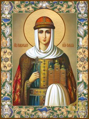 Икона Ольга святая равноапостольная княгиня