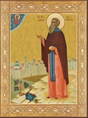 Икона Давид Гареджийский преподобный