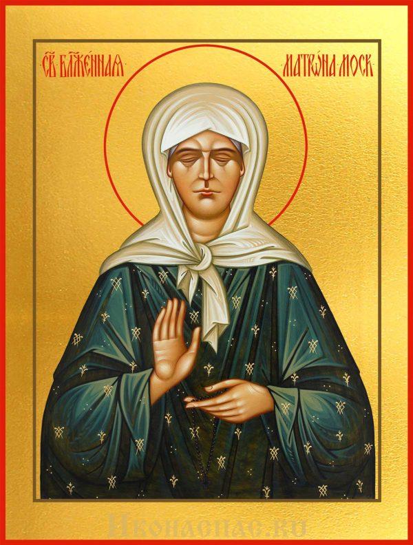 Икона Матрона Московская блаженная