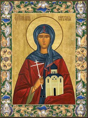 Приобрести икону Ангелина Сербская