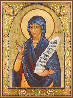 приобрести икону Анна Пророчица