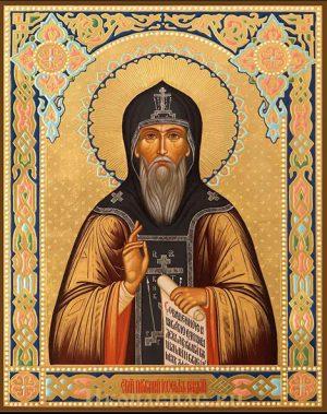 приобрести икону Иосиф Волоцкий