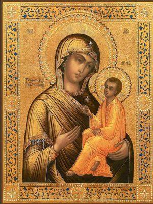 купить Тихвинскую икону Божией Матери