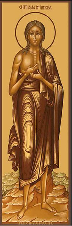 купить мерную икону Мария Египетская