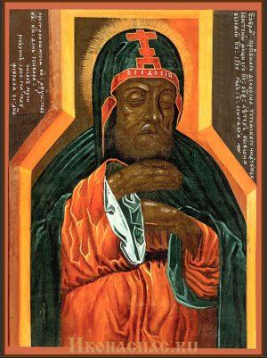 Икона Феодосий Тотемский
