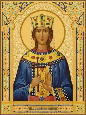 Икона Екатерина Александрийская, святая великомученица